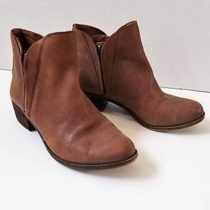 Lucky Brand Leather Brenon Ankle Booties 6